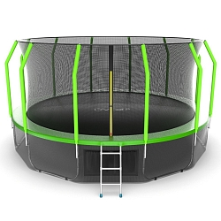 Батут EVO Jump Cosmo 16 FT V2 Green Inside