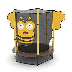 Батут Unix Line Bee 4 FT Yellow Inside